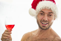 Naughty santa Royalty Free Stock Photos