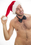 Naughty santa Stock Photography
