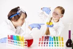 nauka chemicznej fotografia stock