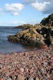 Nauka formacje, Northumberland i Szkockie granicy Rockowe i Kopalne, Obrazy Stock