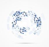 Nauka futurystycznego interneta informatyki wysoki biznes Obrazy Royalty Free