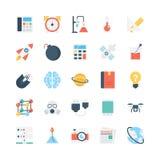 Nauka I Technika Wektorowe ikony 3 ilustracja wektor