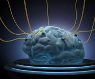 Nauka mózg royalty ilustracja