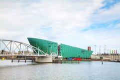 Nauki centrum Nemo budynek w Amsterdam Fotografia Stock