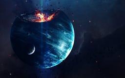 Nauki fikci sztuka Piękno głęboka przestrzeń Elementy ten wizerunek meblujący NASA obrazy royalty free