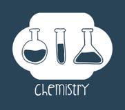 Nauki i chemii projekt Zdjęcia Stock