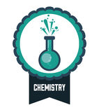 Nauki i chemii projekt Zdjęcie Royalty Free