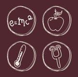 Nauki i chemii projekt Fotografia Royalty Free
