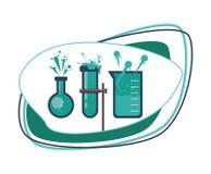 Nauki i chemii projekt Obrazy Royalty Free