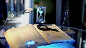 Nauki tajna książka wiedza zbiory wideo