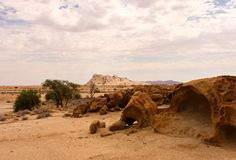 Naukluftnatuurreservaat, Namib-Woestijn, Namibië Stock Foto