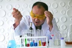 Naukowa eksperyment w laboranckiej nauce obrazy royalty free