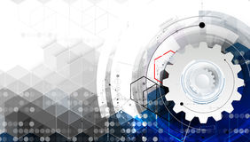 Naukowa Przyszłościowa technologia Dla Biznesowej prezentaci Zdjęcie Royalty Free