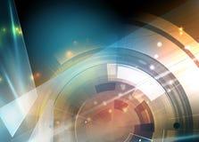 Naukowa Przyszłościowa technologia Dla Biznesowej prezentaci Obrazy Stock