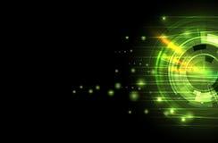 Naukowa Przyszłościowa technologia Dla Biznesowej prezentaci Ulotka, Fotografia Stock