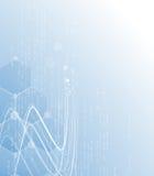 Naukowa Przyszłościowa technologia Dla Biznesowej prezentaci Ulotka, Zdjęcia Royalty Free
