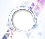 Naukowa Przyszłościowa technologia Dla Biznesowej prezentaci Ulotka, Obraz Royalty Free