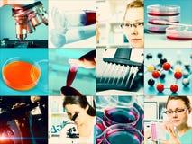 Naukowi projektów elementy Zdjęcia Stock