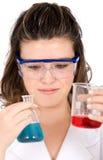 naukowiec żeńskich Zdjęcie Stock