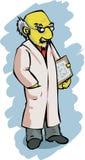 naukowiec komiks. Zdjęcie Royalty Free