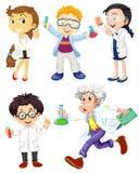 Naukowowie i lekarki Obrazy Royalty Free