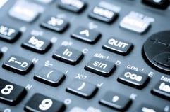 Naukowy kalkulator obraz royalty free