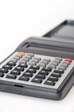 Naukowy kalkulator na białym tle Obrazy Stock