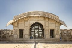 Naulakha Pavilion in Lahore Fort Royalty Free Stock Photography