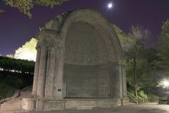 Naumberg Bandshell中央公园 库存图片