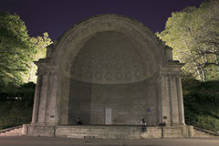Naumberg Bandshell Central Park Immagine Stock