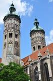 naumburg собора стоковые изображения