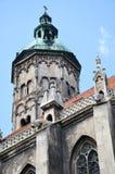 naumburg собора стоковые изображения rf