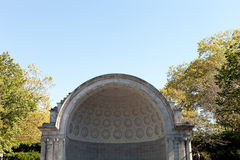 Naumburg Bandshell Theatre Stage Royalty Free Stock Images