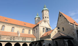 Naumburg Cathedral, Saxony-Anhalt, Germany. St. Peter and Paul's Cathedral in Naumburg town (known in German as the Naumburger Dom Royalty Free Stock Photography