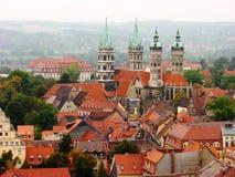 Naumburg, Germany : City View Royalty Free Stock Image