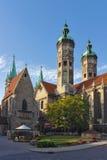 Naumburger大教堂,德国 库存照片
