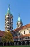 Naumburger大教堂,德国 免版税库存照片