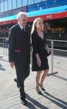 Naumov e Belokhvostikova no festival de película de Moscovo Fotos de Stock Royalty Free
