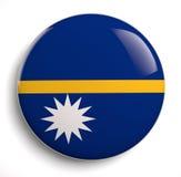 Nauru flag Stock Photos