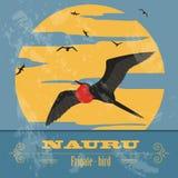 Nauru. Retro styled image Stock Image