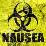 Nausea concept background Stock Photo