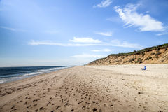 Nauset Light Beach Royalty Free Stock Photo