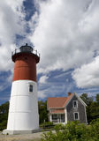 Nauset Light House EastHam, Massachusetts Royalty Free Stock Photo