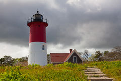 Nauset Light Lighthouse in Eastham, USA Royalty Free Stock Photography
