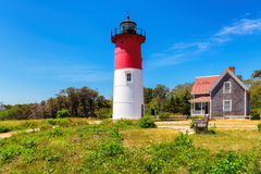 Nauset lighthouse on Cape Cod, Massachusetts Stock Photo