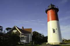 Nauset lighthouse Cape Cod Royalty Free Stock Photos