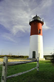 Nauset lighthouse Cape Cod Royalty Free Stock Photo