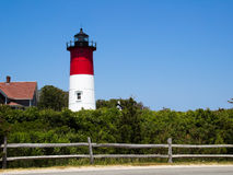 Nauset Lighthouse Royalty Free Stock Photo