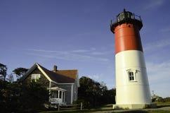 Nausetvuurtoren Cape Cod Royalty-vrije Stock Foto's