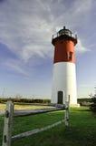 Nausetvuurtoren Cape Cod Royalty-vrije Stock Foto